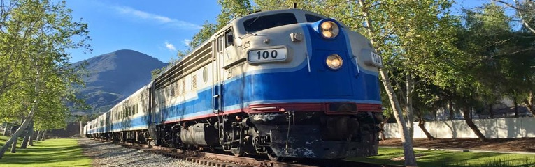 Weekend Scenic Train Excursions in