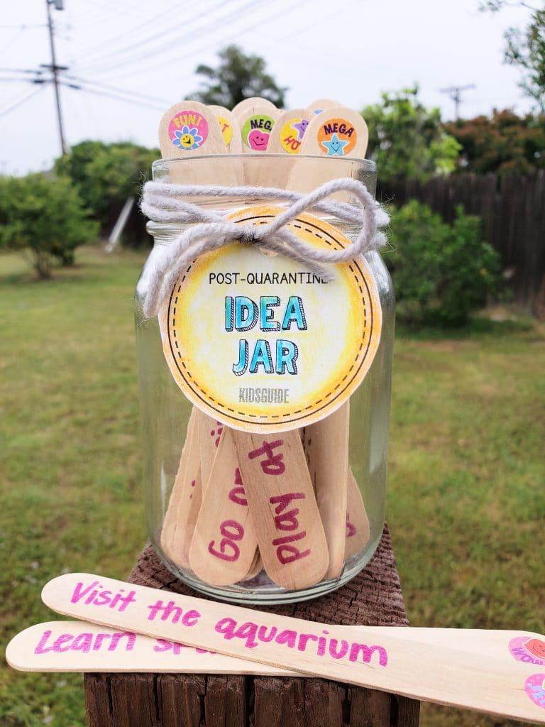 How To Make A Post Quarantine Idea Jar Kidsguide Kidsguide