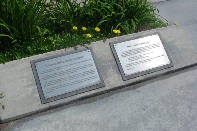 Flight Path Walk of Fame Plaques